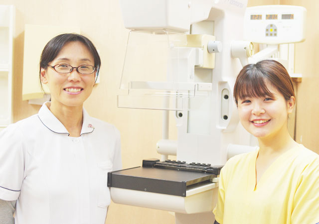 10月20日(日)日曜日に乳がん検査が受けられる日です|南港病院